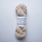Blossom Blush Corriedale Wool Sock Yarn - 4ply hand-dyed OOAK1 Blossom skein