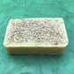 Green Tea Gardeners Soap with green tea wax, pumice and rosemary for mucky folk!