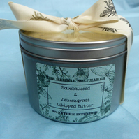 Sandalwood & Lemongrass Whipped Body Butter 400ml