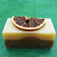 Handmade Warm Spice Soap - natural scent of mulled winter spice