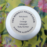 Patchouli & Orange Whipped Body Butter 100ml