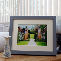 Dreamy Garden - a print based on a photograph of Polesden Lacey