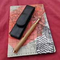 Handmade fountain pen with historic timber - Joseph Priestley