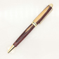 Pen - handmade European-style wood ballpoint pen - kingwood with gold