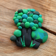 Forest Pin Brooch