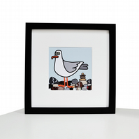 'DESK BUDDY' Your own cute SEAGULL to keep you company!