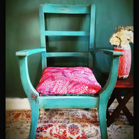 Bespoke Florence Handpainted Boho Chair