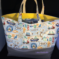 Beach Themed Tote Bag