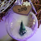 Hand decorated 2019 Christmas bauble