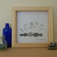 Sea Glass & Pebble Artwork