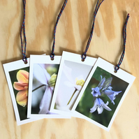 8 Flower Themed Gift Tags