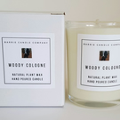 Woody Cologne Candle - Free Shipping (UK Only) for a Limited Time