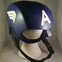 Captain America Inspired Helmet