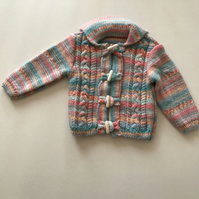 Super soft baby jacket with hood