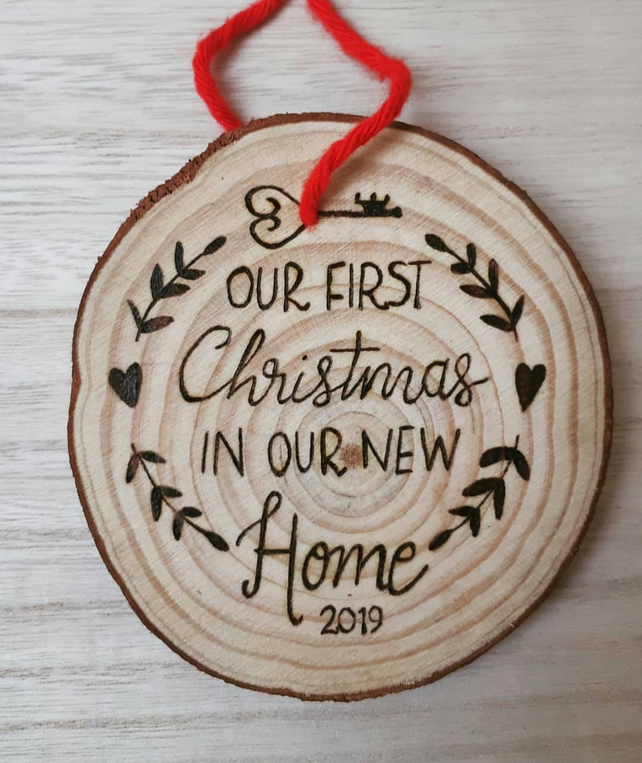 First Home Christmas Decoration