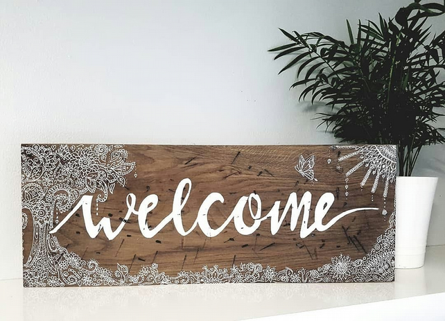 Welcome Sign,
