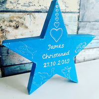 Personalised star gift