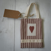 "Heart Gift Bag ""With Love"""