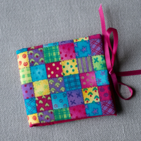Pink Patchwork Design Tooth Fairy Case