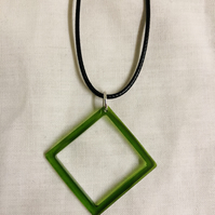 Jade Green Pendant & Necklace