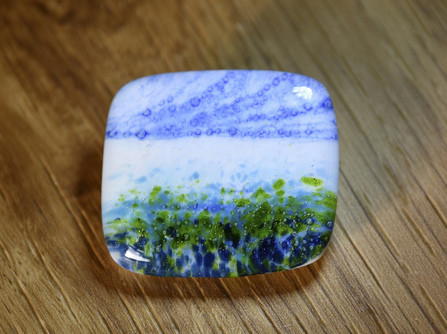 Seascape Brooch