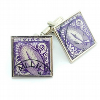 Irish Postage Stamp Cufflinks - Sword of Light