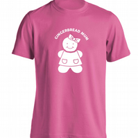 Gingerbread Mum T-Shirt Matching items available for the whole family!
