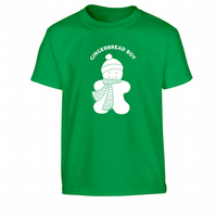 Gingerbread Boy Children's T-Shirt Matching shirts available!