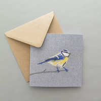 Blue-tit card