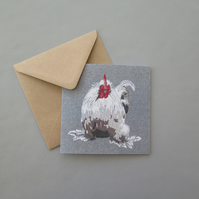 Chicken card