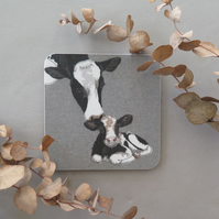 Cow & calf coaster