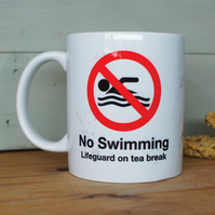Mug for swimmers