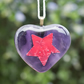 Fused Glass Heart on a Card