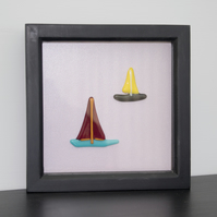 A Taste of The Sea in Black Box Frame