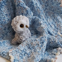 Blue dreams baby blanket