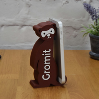 FERRET Phone or tablet stand - Personalised LARGE Phone holder - iPhone stand