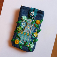 Gadget Case ~ Denim