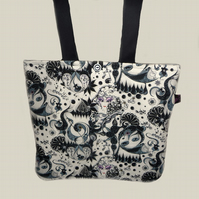 Tote Bag - Art Deco Music