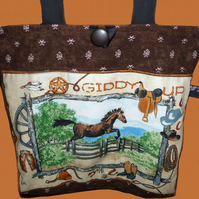 *ONE DAY SALE* Horse Tote Bag