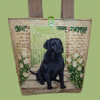 Tote Bag ~ Black Labrador *RESERVED*
