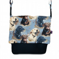 Messenger Bag with Labradors RESERVED