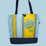 Lavender Tote Bag, Shopping Bag