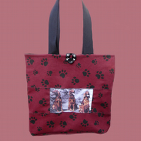 Custom Tote Bag for Linda - Red Setters