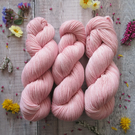 Light Pink Naturally Dyed 4 Ply Yarn