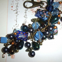 Blue Lagoon bag charm