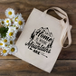Home Is Where The Mountains Are Tote Bag - Mountains Tote Bag - Climber