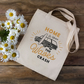 Home Is Where The Waves Crash Surf Inspired Tote Bag - Surf Bag - Surfers Gift