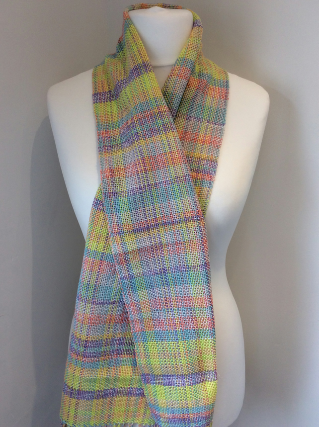 Cotton pastel scarf