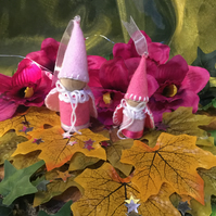 """Queen Belle"" and ""Princess Rose"" Magical Forest Elves."