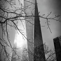 Manhattan One World Trade Centre - Photograph in Black and White